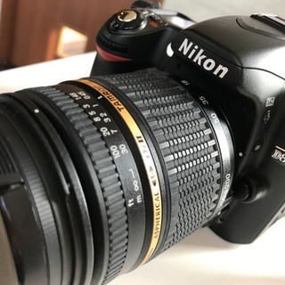 Nikon D80 一眼レフデジタルカメラ 美品 望遠レンズ込み