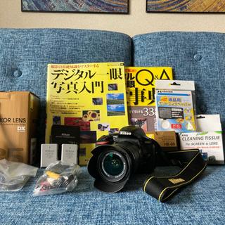 【美品+オマケ多数!!】Nikon D5500 ★Wi-Fi搭載...