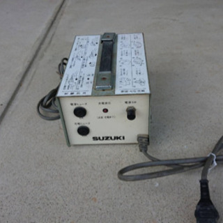セニアカーの充電器