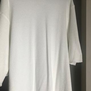 ナノユニバース Tシャツニット トップス
