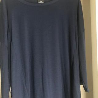 mono-martモノマート 7分Tシャツ ネイビー