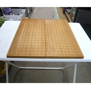 札幌【折りたたみ式 碁盤 盤の厚さ0,5尺】本寸サイズ 木製 五...