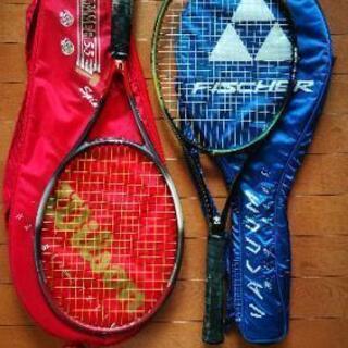 テニスラケット 2本