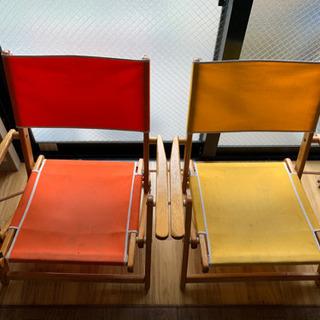 エニウェアチェア アウトドア 折りたたみ椅子 2個セット