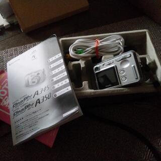 乾電池で使えるデジタルカメラ