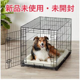 【新品】ペット用ケージ 折りたたみ式シングルドア