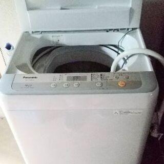 パナソニック洗濯機 2018年購入品