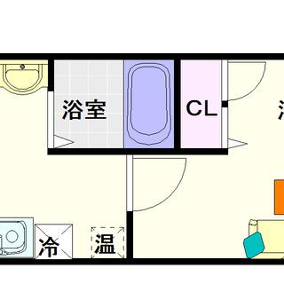 【サウスヒルズ難波Ⅲ番館】4号タイプ!1Kタイプ!大国町駅の真上...