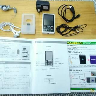 小型オーディオプレーヤー/レコーダー