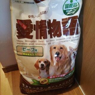 犬のエサ(お話中)