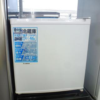 1ドア冷蔵庫 46L 2017年製 エスキュービズム WR-10...