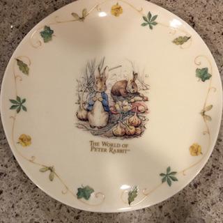 新品未使用ピーターラビットのプレート皿