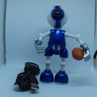 「アスリートロボット型WEBカメラ ボール4つ付き」