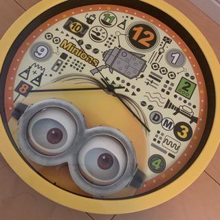 ミニオン 壁掛け時計