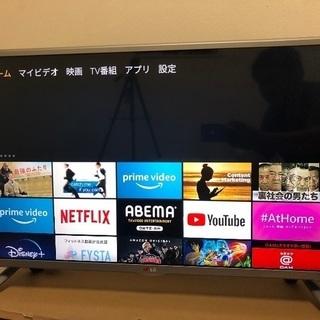 LG社製32型スマートテレビ&Amazon fireTVセット