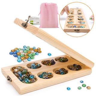 ✨新品✨💝 ボードゲーム Mancala 🔴