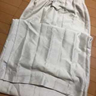 片開き遮光カーテン
