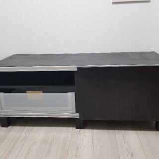 IKEAテレビ台(引き出し、スライド扉つき/組み立て済)