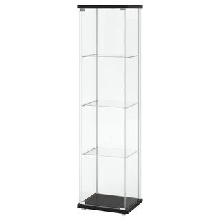 【IKEA】ガラスショーケース (フィギュア等)