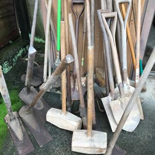 昔の農具、工具、道具いろいろ
