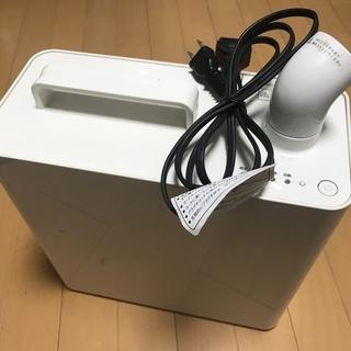 決まりました。【無料】無印良品 スチームファン式アロマ加湿器(TPK-MJ403)の画像
