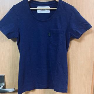 [美品]AKMネイビーのTシャツ メンズ