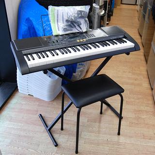 キーボード カシオ LK-113 電子ピアノ イス・スタンド・譜...
