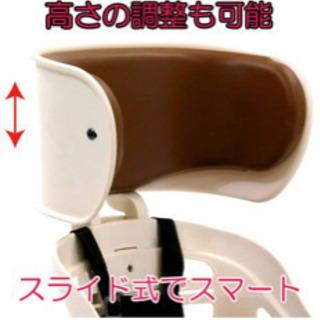 子供座席(後ろ) OGK技研ヘッドレスト付デラックス後ろ子供のせ...