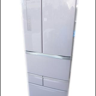 美品/東芝◆ノンフロン6ドア冷凍冷蔵庫/GR-G48FS◆ベジー...