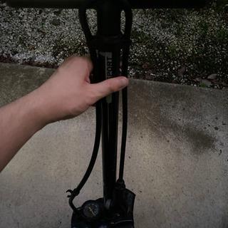 ロードバイク クロスバイク用 空気入れ