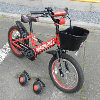 自転車 子供用 16インチ 男の子用 キッズ自転車 補助輪付き ...
