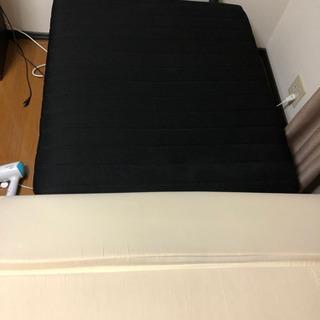 シングルベッド(折り畳み・マットレス付き)【受付中】