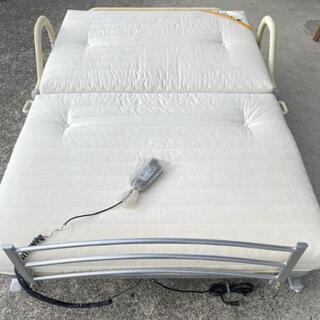 ATEX 収納式電動リクライニングベッド セミダブル ATX-B...