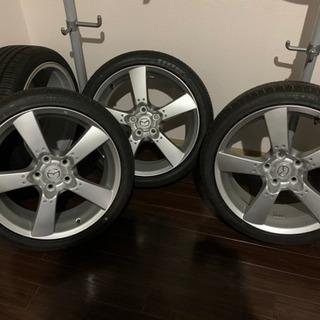 RX-8 純正18インチホイール 新品タイヤセット