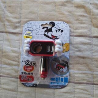 Disney USBポート2口