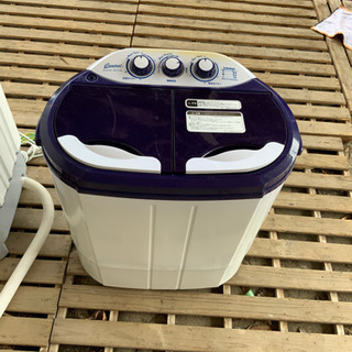 マイセカンドランドリー 2槽式小型洗濯機 中古 2013年