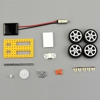 DIY組み立てるおもちゃセットソーラーカーキット子供のための教育科学