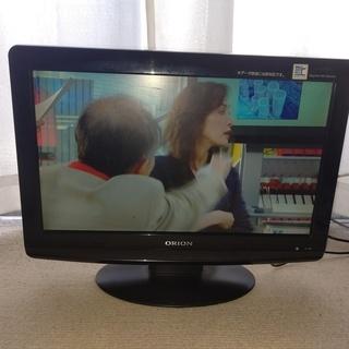 ORION オリオン 19型液晶テレビ 訳有