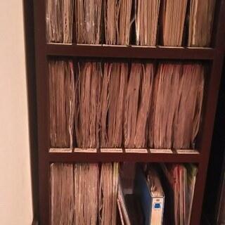演歌 レーザーディスクのカラオケを130枚ぐらい ラック付き