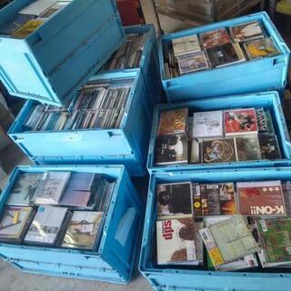 音楽CD大量 約4000枚以上?