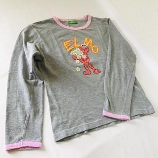 【ELMO】エルモ/長袖/Tシャツ/子供用/サイズM/中古/SE...