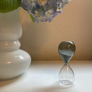 HAY ガラスの砂時計 3分サイズ 新品