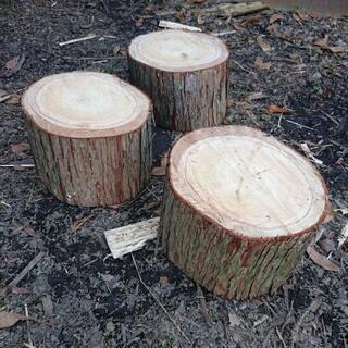 キャンプ用 薪割り台