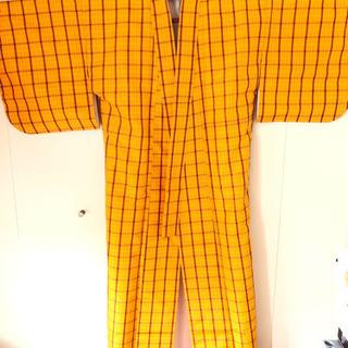 洗える着物黄八丈 paypay可能