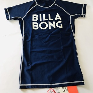 【BILLABONG】未使用/ビラボン/半袖/海用ラッシュガード...