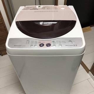 【最終値下げ】簡易乾燥付き洗濯機SHARP 2009年製  5....