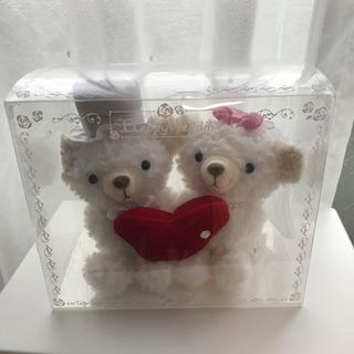 結婚式 受付 ぬいぐるみ クマ