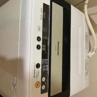 パナソニック 5.0キロ洗濯機