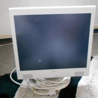 無料で差し上げます。PC液晶モニター17インチ 可動 仕事で使用...