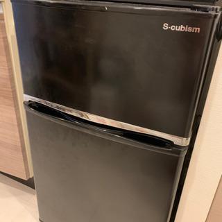 再投稿 ② 2017年式 冷蔵庫 90L 黒 WR-2090BK...